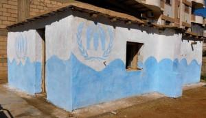 Bild einer mit ARCHICAD geplanten Notunterkunft in Syrien